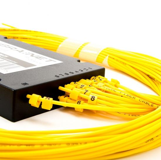 PLC 1x16 splitter without ending (2.0mm, G657A2) (FNSCAPCSMDXPCLSZH) | START.LAN