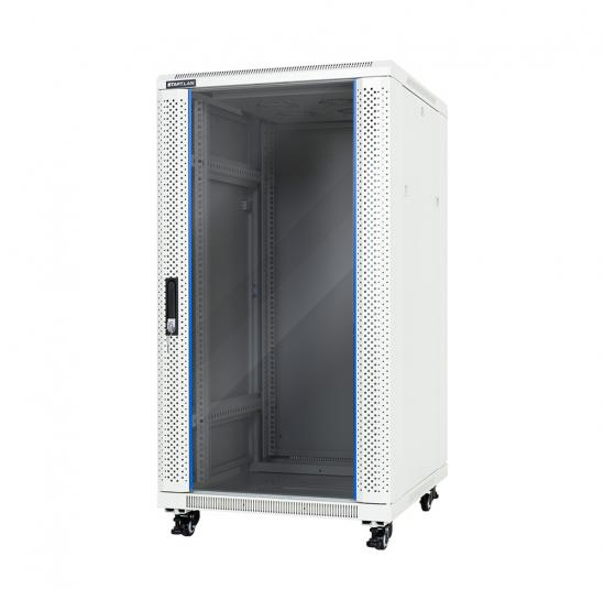 "floor-standing rack 19"" cabinet 22U 600x600mm (STLFSC-22U-66-GSG) 