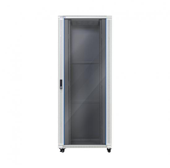 "19"" floor-standing rack cabinet 42U 800x800mm (STLFSC-42U-810-GSG) 