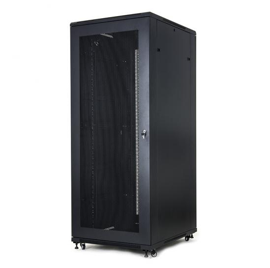 "19"" floor-standing rack cabinet 42U 800x1000mm (STLFSC-42U-810-SSB1T) 