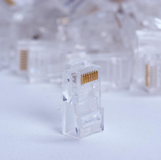 RJ-45 plug UTP cat. 5e per link (100pcs package) (STLP8P8CUC5E-ST) | START.LAN