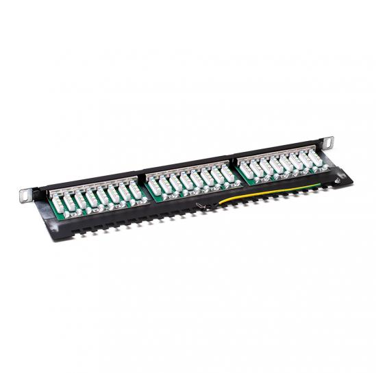 STP cat.6 24 ports patchpanel (STLPP05U24SC6) | START.LAN