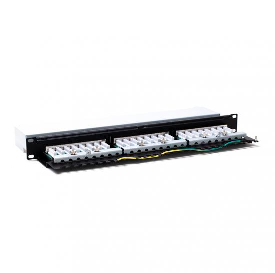 patch panel STP cat.5e 24 porty (STLPP1U24SC5E)