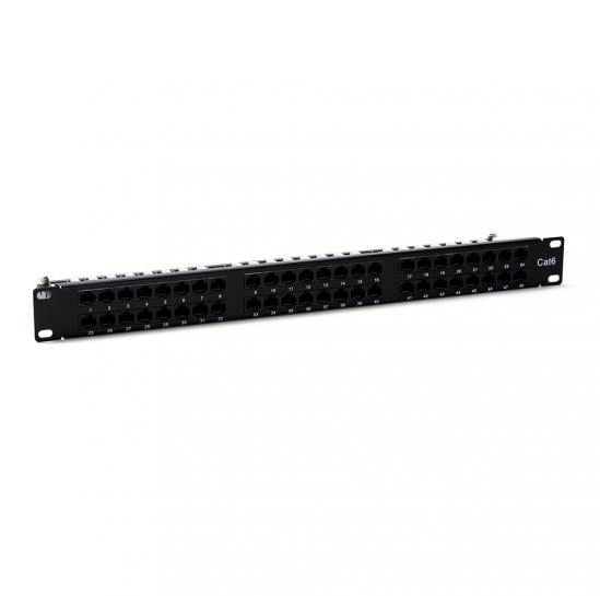 patch panel UTP cat.6 48 port. (STLPP1U48UC6)