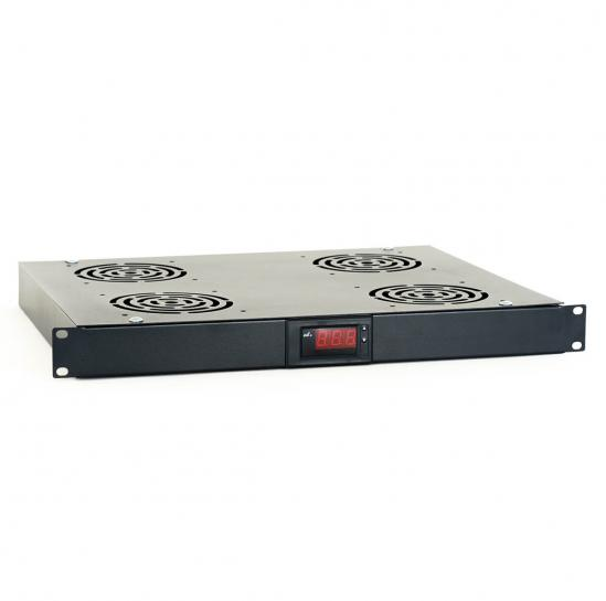 1U ventilation panel (4x fan) (STLVP-1U-4F) | START.LAN