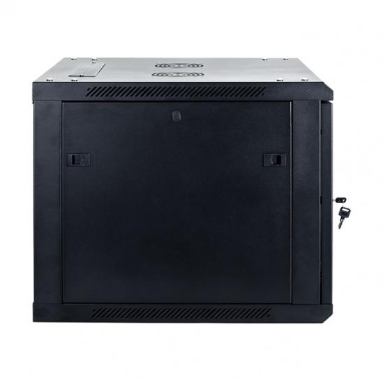 "19"" wall mount-and-floor-standing rack cabinet 9U 600x600mm (STLWMC-9U-66-GSB-C) 