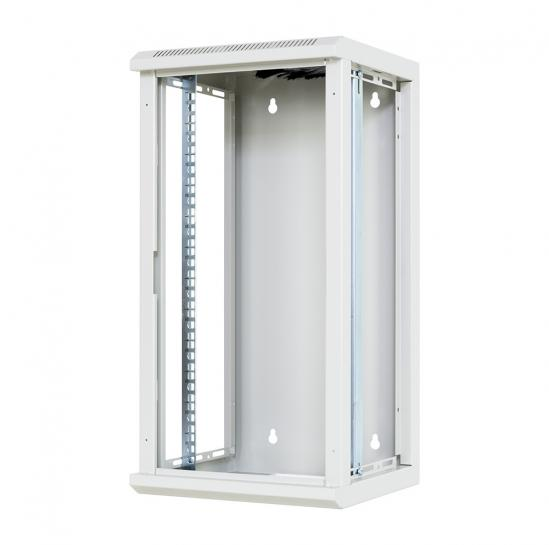 "10"" wall mount rack cabinet 12U 310x300mm (STLWMC10C-12U-GSG) 