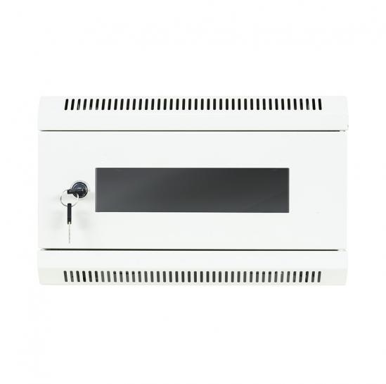 "10"" wall mount rack cabinet 4U 350x280mm (STLWMC10C-4U-GSG) 