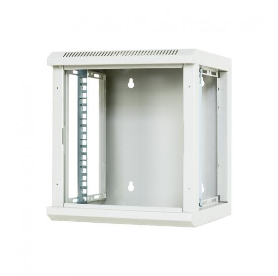 "10"" wall mount rack cabinet 6U 310x300mm (STLWMC10C-6U-GSG) 