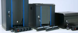 "19"" rack cabinet: a typical solution for server rooms and other facilities"
